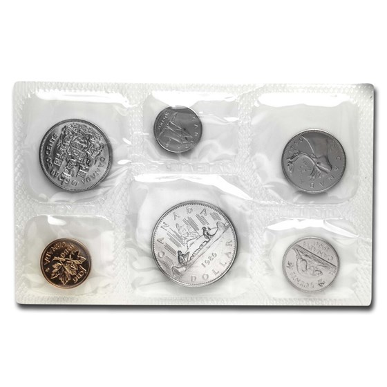 1980 Canada 6-Coin Proof Like Set