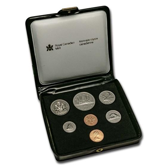 1980 Canada Double Cent Prooflike Set (Box & COA)