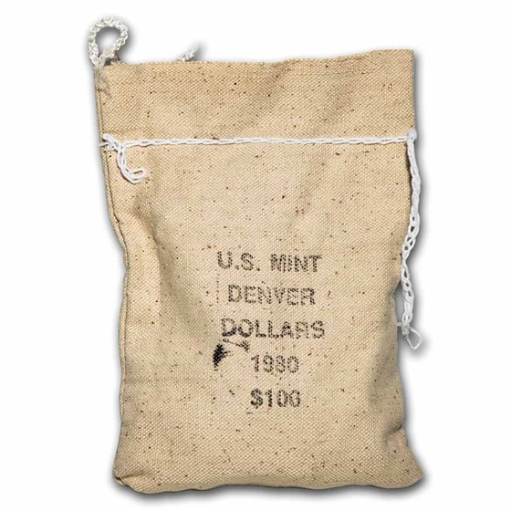 1980-D SBA 100-Coin Sealed Bag BU