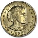 1980-D Susan B. Anthony Dollar BU