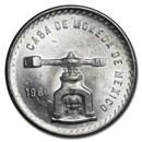 1980 Mexico 1 oz Silver Onza BU
