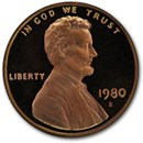 1980-S Lincoln Cent Gem Proof (Red)