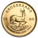 1980 South Africa 1 oz Gold Krugerrand