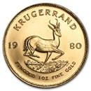 1980 South Africa 1 oz Gold Krugerrand