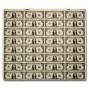 1981-A (F-Atlanta) $1.00 FRN CU (32 Note Uncut Sheet)