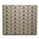 1981-A (G-Chicago) $1.00 FRN CU (32 Note Uncut Sheet)