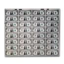1981 (E-Richmond) $1.00 FRN CU (24 Note Uncut Sheet)