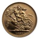 1981 Great Britain Gold Sovereign Elizabeth II BU