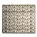1981 (L-San Francisco) $1.00 FRN CU (32 Note Uncut Sheet)