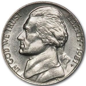 1981-P Jefferson Nickel BU