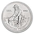 "1982 1 oz Silver Round - Engelhard Prospector (""E"" Logo Reverse)"