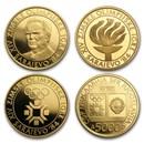 1982-1984 Yugoslavia Proof Gold 5000 Dinara Olympics (Random)