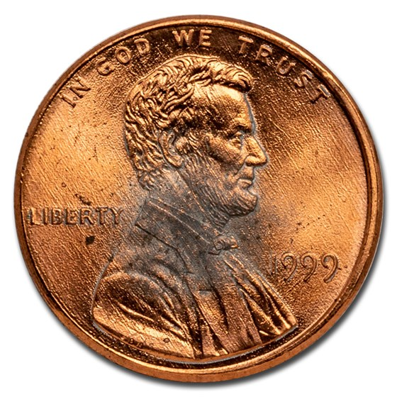 1982-2009 Lincoln Memorial Cent BU (Impaired)