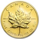 1982 Canada 1/4 oz Gold Maple Leaf BU