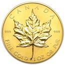 1982 Canada 1 oz Gold Maple Leaf BU