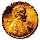 1982 Lincoln Cent BU (Copper, Large Date)