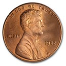 1982 Lincoln Cent BU (Zinc, Small Date)