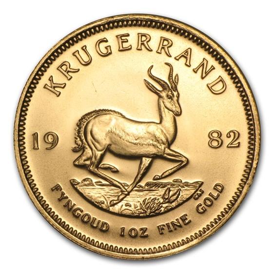 1982 South Africa 1 oz Gold Krugerrand BU