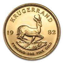 1982 South Africa 1 oz Gold Krugerrand