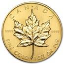 1983 Canada 1 oz Gold Maple Leaf BU