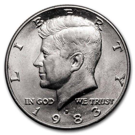 1983-D Kennedy Half Dollar BU