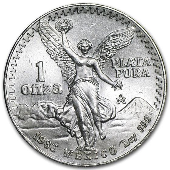 1983 Mexico 1 oz Silver Libertad BU