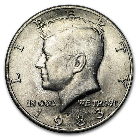 1983-P Kennedy Half Dollar BU