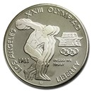 1983-S Olympic $1 Silver Commem Proof (Capsule Only)