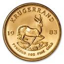1983 South Africa 1 oz Gold Krugerrand BU
