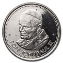 1984 Alberta, Canada Papal Visit John Paul II Medallion BU