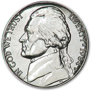 1984-D Jefferson Nickel BU