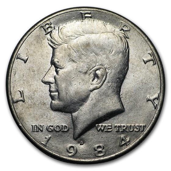 1984-D Kennedy Half Dollar BU