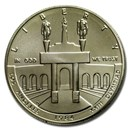 1984-D Olympic $1 Silver Commem BU (Capsule Only)