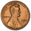 1984 Lincoln Cent BU (Red)