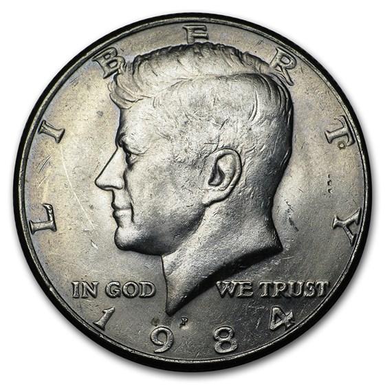 1984-P Kennedy Half Dollar BU
