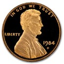 1984-S Lincoln Cent Gem Proof (Red)