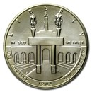 1984-S Olympic $1 Silver Commem BU (Capsule Only)