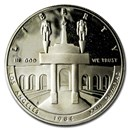 1984-S Olympic $1 Silver Commem Proof (Capsule Only)