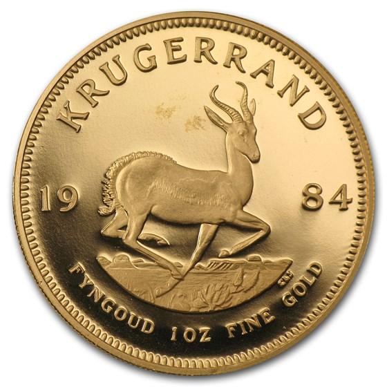 1984 South Africa 1 oz Proof Gold Krugerrand