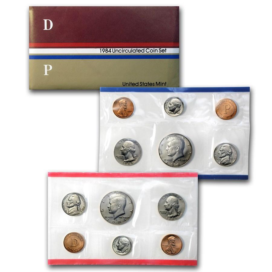 1984 U.S. Mint Set