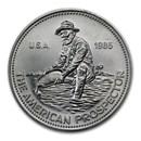 1985 1 oz Silver Round - Engelhard Prospector (Eagle Reverse)