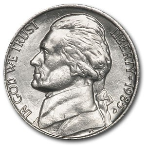 1985-D Jefferson Nickel BU