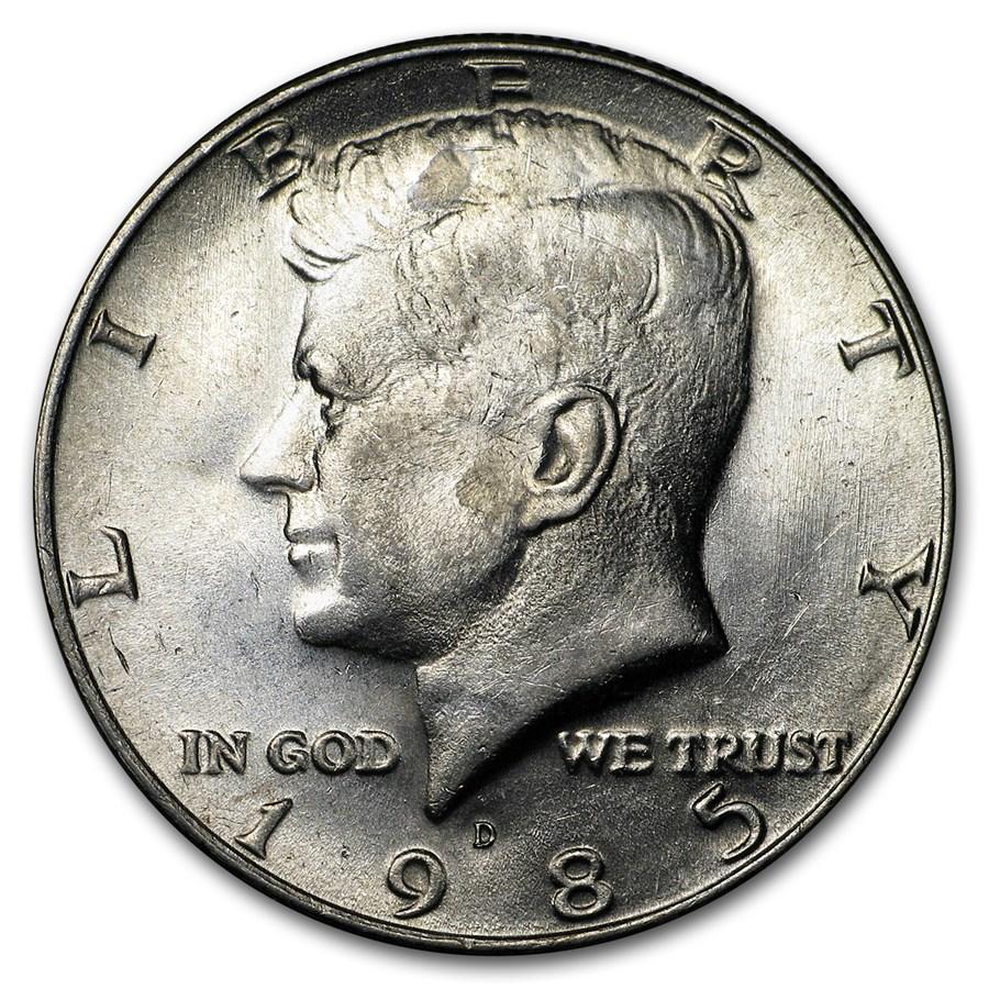 1985-D Kennedy Half Dollar BU