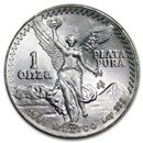 1985 Mexico 1 oz Silver Libertad BU