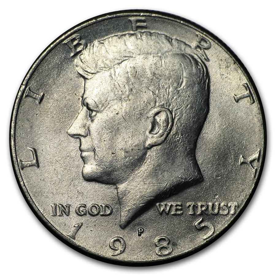 1985-P Kennedy Half Dollar BU