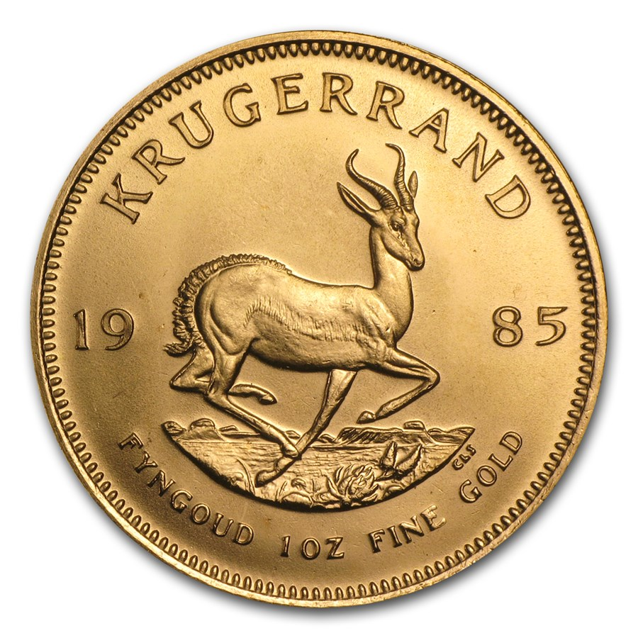 1985 South Africa 1 oz Gold Krugerrand BU