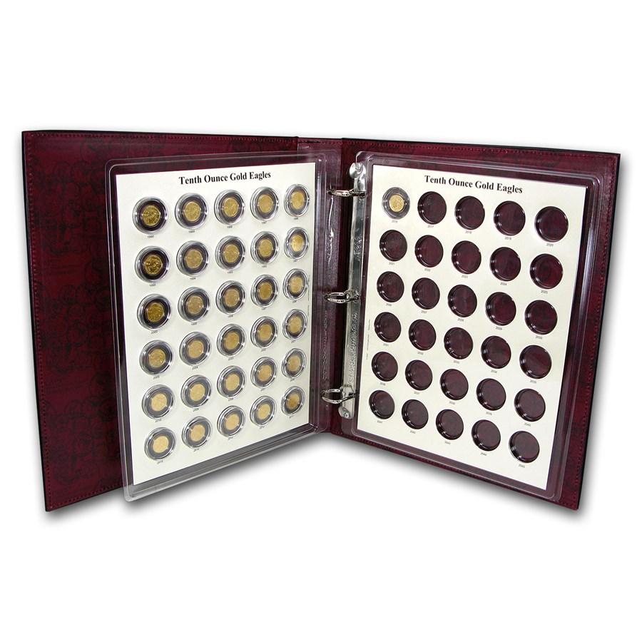 1986-2016 31-Coin 1/10 oz Gold Eagle Set BU (CAPS Album)