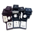 1986-2020 34-Coin Proof Silver American Eagle Set