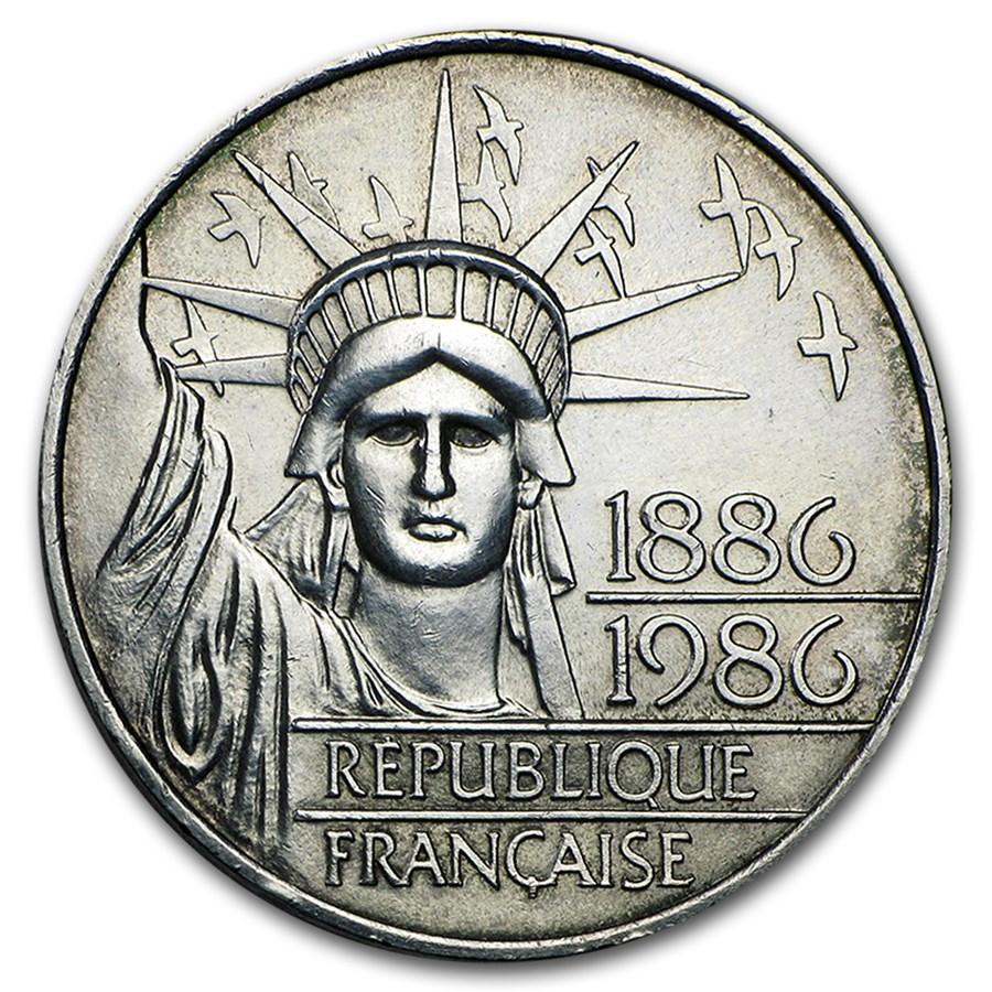 1986 France 100 Francs (Abrasions)