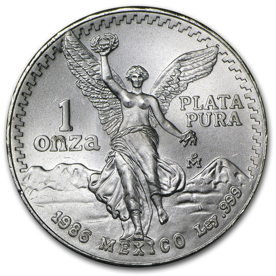 2019 1/20 oz Mexican Silver Libertad BU | Bullion Exchanges